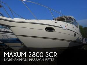 2000 Maxum 2800 SCR