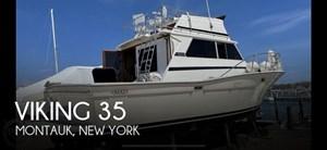 1980 Viking Yachts 35 Convertible