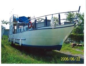1990 Custom Steel 50 Foot all steel Trawler