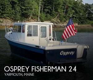 2004 Osprey Fisherman 24