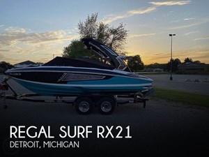 2019 Regal Surf RX21