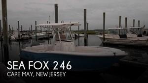 2014 Sea Fox 246 Commander