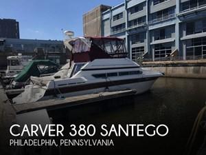 1990 Carver 380 Santego