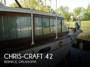 1959 Chris-Craft Constellation 42