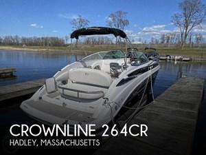 2018 Crownline 264CR