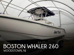 2001 Boston Whaler 260 Outrage