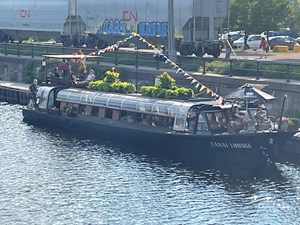 1971 Canal Boat Bateau- mouche