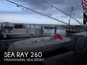 1999 Sea Ray 260 Select Signature
