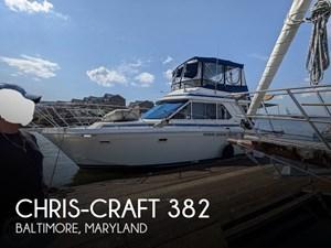 1986 Chris-Craft Commander 382 Sport Sedan