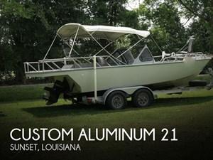 1996 Custom Aluminum 21