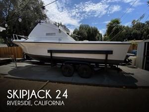 1975 Skipjack 24 Flybridge