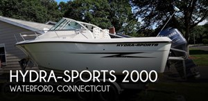 2010 Hydra-Sports 2000 WA