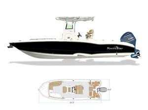 2022 NauticStar 251 Hybrid