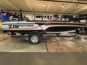 2018 Nitro Z19 Sport/150HPMERCURY/TRAILER!