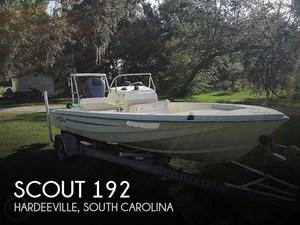 1999 Scout 192 Sportfisher