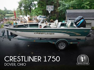 2000 Crestliner 1750 Fish Hawk SC