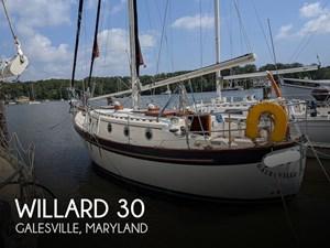 1978 Willard 8T 30 Cutter