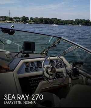 1983 Sea Ray 270