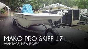 2019 Mako Pro Skiff 17