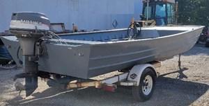 1996 Landau Flat Bottom Aluminum Workboat - PRICE REDUCED!