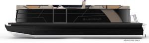 2022 Legend E-Series 23 Dual Lounge - Triple-Tubes Black Editi
