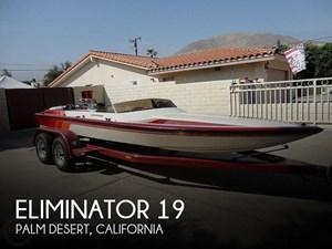 1992 Eliminator 19 Jet Drive