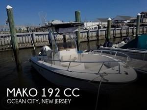 2002 Mako 192 CC