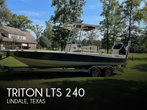 2017 Triton LTS 240 Pro