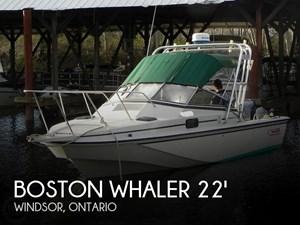1986 Boston Whaler Revenge WT 22