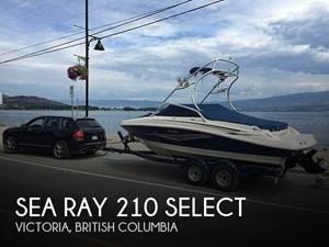 2010 Sea Ray 210 select