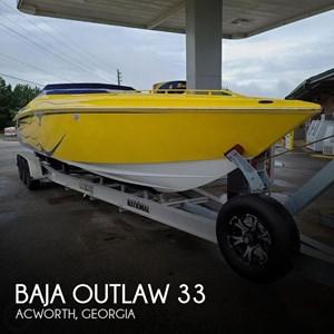 2002 Baja 33 Outlaw