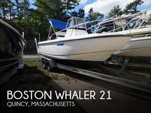 2000 Boston Whaler 21 outrage