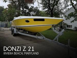 1987 Donzi Z 21