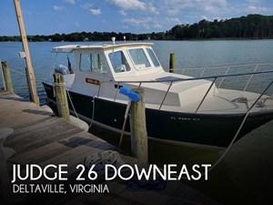 2002 Judge Chesapeake 27