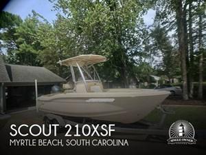 2015 Scout 210XSF