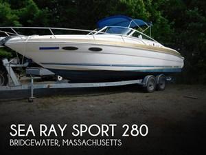 1997 Sea Ray Sport 280