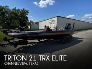 2017 Triton 21 TRX Elite