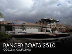 2015 Ranger 2510 BAY 25