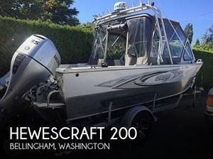2003 Hewescraft 200 Searunner