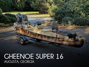 2011 Gheenoe Super 16