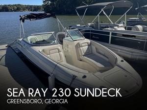 2009 Sea Ray 230 Sundeck