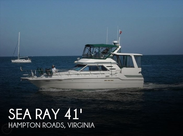 1987 Sea Ray 41 Aft Cabin Photo 1 sur 20