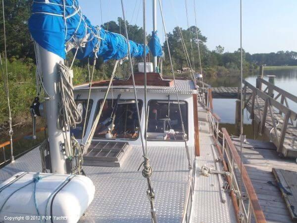1984 Sea Finn 411 Motorsailer Photo 3 sur 20