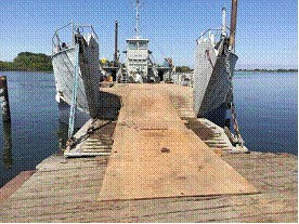1954 LCU Landing Craft Rebuilt in 2015- 200 ton capacity Photo 4 of 45