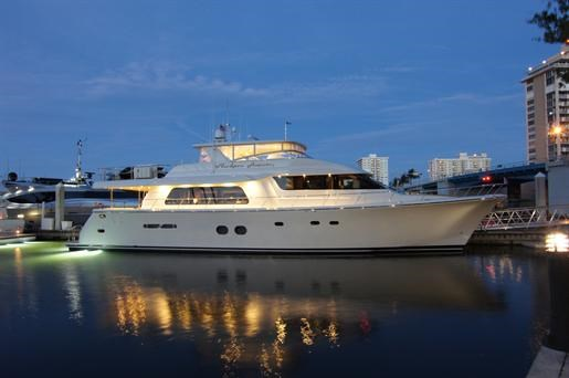 Pacific Mariner 85 Pilothouse 2012 Used Boat for Sale in Ft Lauderdale,  Florida - BoatDealers ca