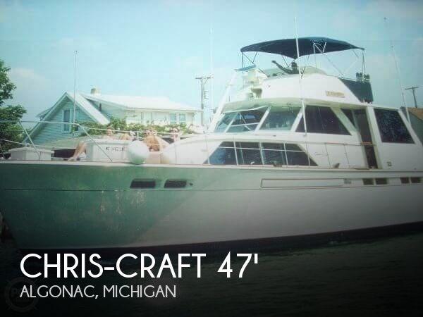 1972 Chris-Craft 47 Commander Photo 1 sur 20