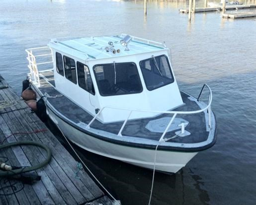 1989 Monark/Sea Ark 28' Aluminum Monark/Sea Ark Work Boat Photo 2 of 7
