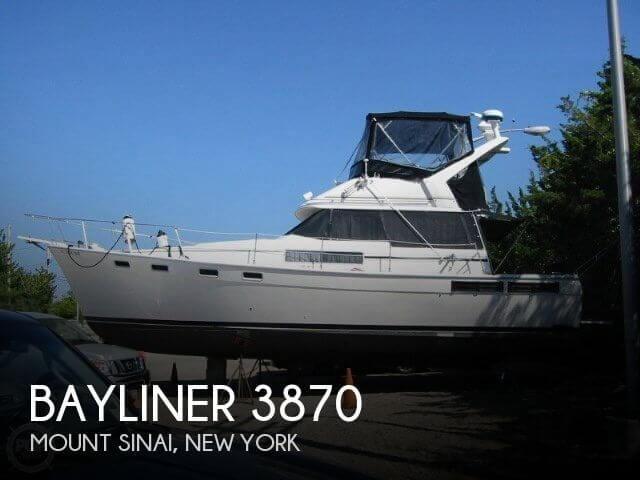 1988 Bayliner 3870 Photo 1 sur 20