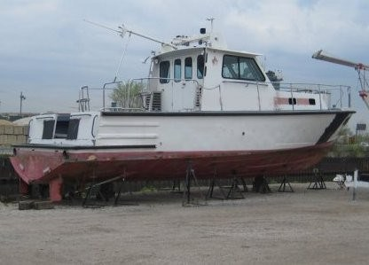 1982 Gladding Hearn Crew Boat/Patrol Boat - New price Photo 2 sur 3
