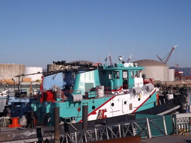 1974 Ex Navy Harbor Tug Ex Navy 2000 hp Harbor Tug Photo 4 sur 22